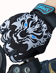cheap -Bike Gloves / Cycling Gloves Ski Gloves for Boys' Girls' Kid's Anti-skidding Canvas Fingerless Gloves Snowsports for Cold Weather Cycling / Bike