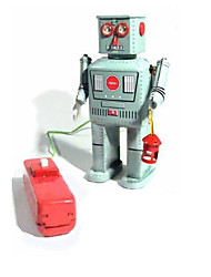cheap -Wind-up Toy Educational Toy Novelty Electric Warrior Robot Metalic 1 pcs Toy Gift