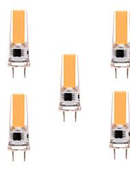 cheap -YWXLight® 5PCS G8 2508 5W 350-450 lm LED Bi-pin Light Warm White Cool White Dimmable 360 Beam Angle Lights Spotlight AC 110-130V AC 220-240V