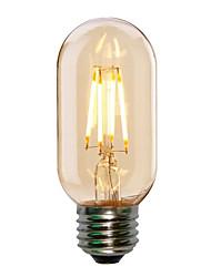 Недорогие -HRY 1шт 4 W LED лампы накаливания 360 lm E26 / E27 T45 4 Светодиодные бусины COB Декоративная Тёплый белый Холодный белый 220-240 V / RoHs