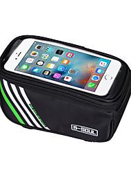 cheap -B-SOUL 1.5L Cell Phone Bag Bike Frame Bag Top Tube Touch Screen Shockproof Phone Holder Bike Bag Nylon Bicycle Bag Cycle Bag iPhone X / iPhone XR / iPhone XS Cycling / Bike / iPhone XS Max