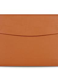 "cheap -13"" Laptop Briefcase Handbags Genuine Leather Solid Color"
