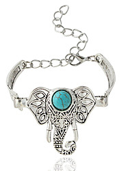 cheap -Women's Chain Bracelet Animal Bohemian Alloy Bracelet Jewelry Silver For