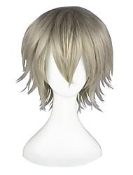 cheap -Cosplay Wigs Final Fantasy Hope Estheim Anime Cosplay Wigs 35 CM Heat Resistant Fiber Men's Women's