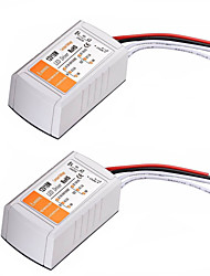 cheap -2PCS AC 100-240V to DC 12V 18W LED Voltage Converter