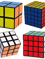cheap -4 PCS Magic Cube IQ Cube Shengshou 2*2*2 3*3*3 4*4*4 5*5*5 Smooth Speed Cube Magic Cube Stress Reliever Puzzle Cube Professional Level Speed Professional Classic & Timeless Kid's Adults' Children's