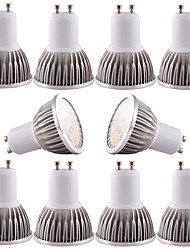 cheap -4 W LED Spotlight 350-400 lm GU10 GU5.3(MR16) E26 / E27 MR16 16 LED Beads SMD 5730 Dimmable Decorative Warm White Cold White 100-240 V 12 V 110-130 V / 10 pcs / RoHS