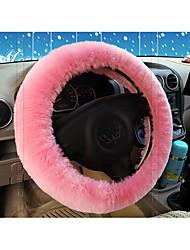 Недорогие -австралийская овчина автомобиля на рулевое колесо наборов чистой шерсти чувствовать себя комфортно