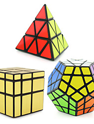 cheap -3 PCS Magic Cube IQ Cube Shengshou Pyramid Alien Megaminx Smooth Speed Cube Magic Cube Stress Reliever Puzzle Cube Professional Level Speed Professional Classic & Timeless Kid's Adults' Children's Toy