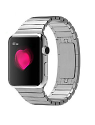 cheap -Watch Band for Apple Watch Series 5/4/3/2/1 Apple Butterfly Buckle Stainless Steel Wrist Strap