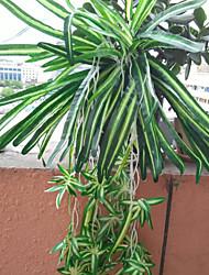 abordables -Fleurs artificielles 1 Une succursale Style moderne Plantes Corbeille Fleur