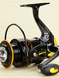 cheap -Fishing Reel Spinning Reel 5.2/1 Gear Ratio+13 Ball Bearings Hand Orientation Exchangable Spinning / Lure Fishing - AD2000-5000
