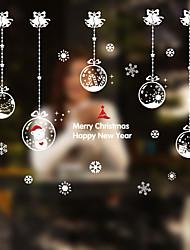 cheap -Christmas Window Sticker Contemporary , Art Deco 130*100cm
