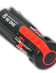 Недорогие -8 в 1 мульти портативный набор отвертки инструмент