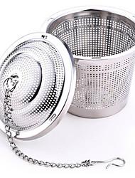Недорогие -304 из нержавеющей стали практичный шарик чая сетчатый фильтр сетчатый фильтр пакетиков травяного
