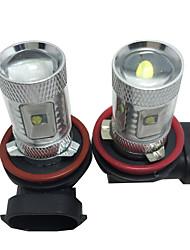 Недорогие -1 пара автомобилей лампочки 30 Вт smd светодиодные 2400 лм 6 противотуманные фары для Chevrolet 2014/2015/2016