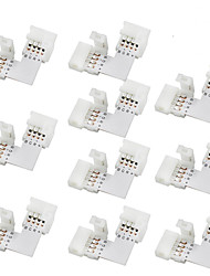cheap -10pcs 12*6.5*1 cm Lighting Accessory Electrical Connector