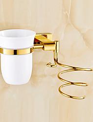 cheap -Bathroom Shelf Contemporary Brass / Zinc Alloy 1 pc - Hotel bath