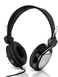 cheap -Kubite T-420 Over-ear Headphone Wired Noise-isolating with Microphone with Volume Control Travel Entertainment