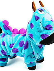 cheap -Dog Costume / Outfits Dog Clothes Polar Fleece Costume For Pets Men's / Women's Cosplay / Keep Warm