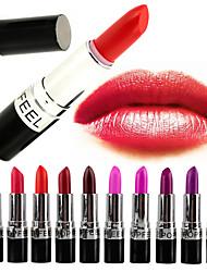 abordables -20 couleurs Maquillage Quotidien Rouges à Lèvres Sec / Mat / Mélange Etanche / Respirable / Gloss pailleté Maquillage Cosmétique Accessoires de Toilettage