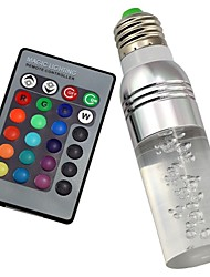 cheap -1pc 3 W LED Smart Bulbs 180 lm B22 E26 / E27 T 1 LED Beads High Power LED Remote-Controlled Decorative Color Gradient RGB 85-265 V / 1 pc / RoHS