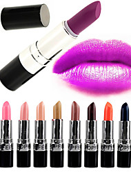 cheap -20 Colors Daily Makeup Lipsticks Dry / Matte / Combination Waterproof / Breathable / Shimmer glitter gloss Makeup Cosmetic Grooming Supplies