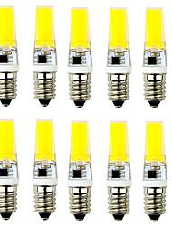 cheap -2.5 W LED Bi-pin Lights 250-300 lm E14 G9 T 1 LED Beads COB Decorative Warm White Cold White 220-240 V / 10 pcs / RoHS