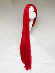 cheap -Synthetic Wig Straight Straight Yaki Wig Red Synthetic Hair Women's Red hairjoy