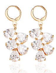 cheap -Women's Hoop Earrings Fashion Earrings Jewelry Gold / Silver For Wedding