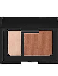 abordables -2 couleurs Set de maquillage Poudre Correcteur / Contour Sec / Mat / Mélange Etanche / Respirable / Blanchiment Visage Chine Maquillage Cosmétique