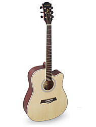 cheap -Beginner 41 Inch Khaki Guitar