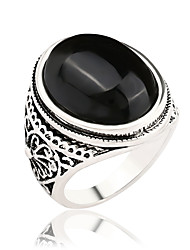 cheap -Women's Band Ring Ring - Stylish, Vintage, Fashion 7 / 8 / 9 / 10 / 11 Black / Red For Wedding Party Party / Evening / Daily / Casual / Agate