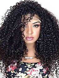 cheap -Synthetic Wig Afro Kinky Curly Curly Wig Long Black Synthetic Hair Women's African American Wig For Black Women Natural Black