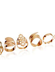 Недорогие -Жен. Кольцо Золотой Сплав Классика Мода Свадьба Для вечеринок Бижутерия принцесса