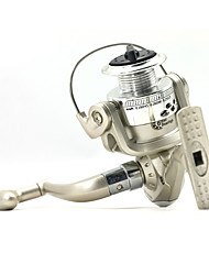 cheap -Spinning Reel 5.1/1 Gear Ratio+6 Ball Bearings Hand Orientation Exchangable Spinning / Lure Fishing - SG1000
