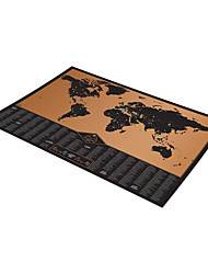 cheap -3D Puzzle Wooden Puzzle Paper Model Wooden Model Map Paper Kid's Adults' Toy Gift