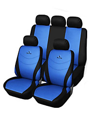 cheap -Car Seat Covers Seat Covers Gray / Red / Blue Textile Common For
