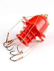 cheap -Fishing-1pcs pcs White / Yellow / Red Hard Plastic / Carbon steel-AnmukaSea Fishing / Ice Fishing / Jigging Fishing / Freshwater Fishing