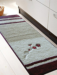 cheap -1pc Country Area Rugs Polyester Contemporary Bathroom Easy to clean