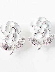 cheap -Women's Stud Earrings Drop Earrings Flower Earrings Jewelry Yellow / Pink / Light Blue For Wedding Party Daily Casual 1pc