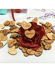 cheap -Toss & Getaway Wood Wedding Decorations Wedding / Engagement / Valentine's Day Beach Theme / Garden Theme / Floral Theme Spring / Summer / Fall