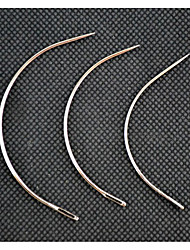 cheap -wig accessories type 12pcs c type curved needles for hair weft hair weaving needle weave machine sewing needle