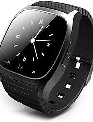 Недорогие -Муж. Смарт Часы электронные часы Гибридные часы Цифровой Pезина Черный / Белый / Синий Сенсорный экран Будильник Календарь Цифровой Роскошь - Синий Белый Черный / Пульт управления / Педометры