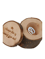 cheap -''you will forever be my always'' Shabby Rustic Wedding Ring Bearer Box Wooden