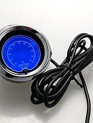 """Недорогие -2 """"(52мм) 7 Цветовая температура ЖК-цифровой манометр воды 40-140 температуры с датчика метр / AutoMeter / автомобиль / манометр"""