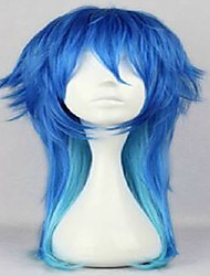 cheap -anime dramatical murder dmmd seragaki aoba cosplay wig two tone blue ombre synthetic hair women costume party wigs Halloween