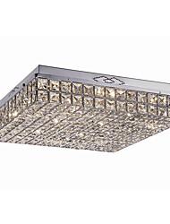 cheap -9-Light 41cm Crystal / LED Flush Mount Lights Metal Chrome Modern Contemporary 110-120V / 220-240V