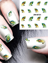 cheap -1 pcs Water Transfer Sticker nail art Manicure Pedicure Classic Daily