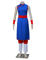 cheap -Inspired by Dragon Ball Son Goku Anime Cosplay Costumes Japanese Cosplay Suits Solid Colored Sleeveless Pants Corset More Accessories For Women's / Cheongsam / Cheongsam